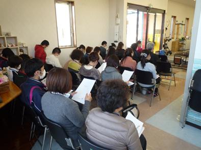 福祉用具勉強会の開催。